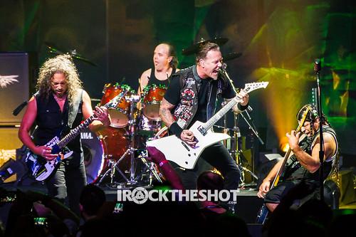 Metallica at the Apollo Theatre