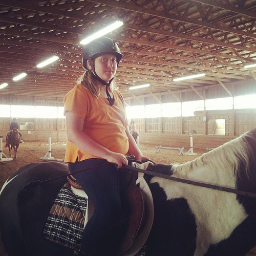 Riding lessons. Again.