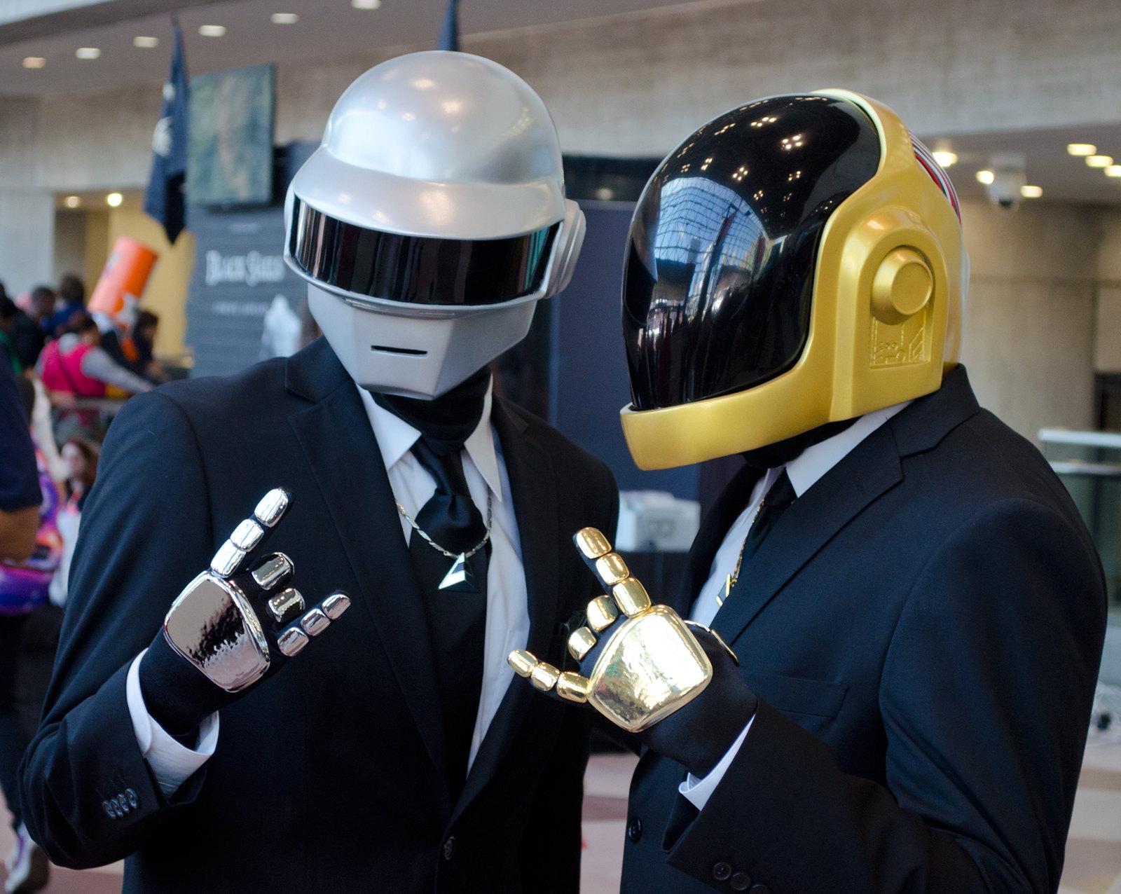 Daft Punk Cosplay NYCC