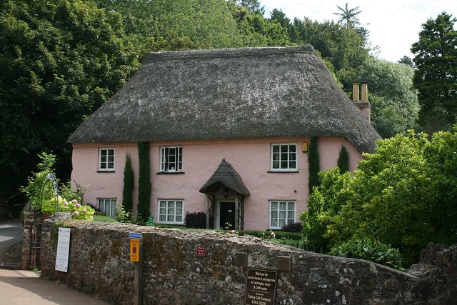 Thatched cafe - Cockington, Devon