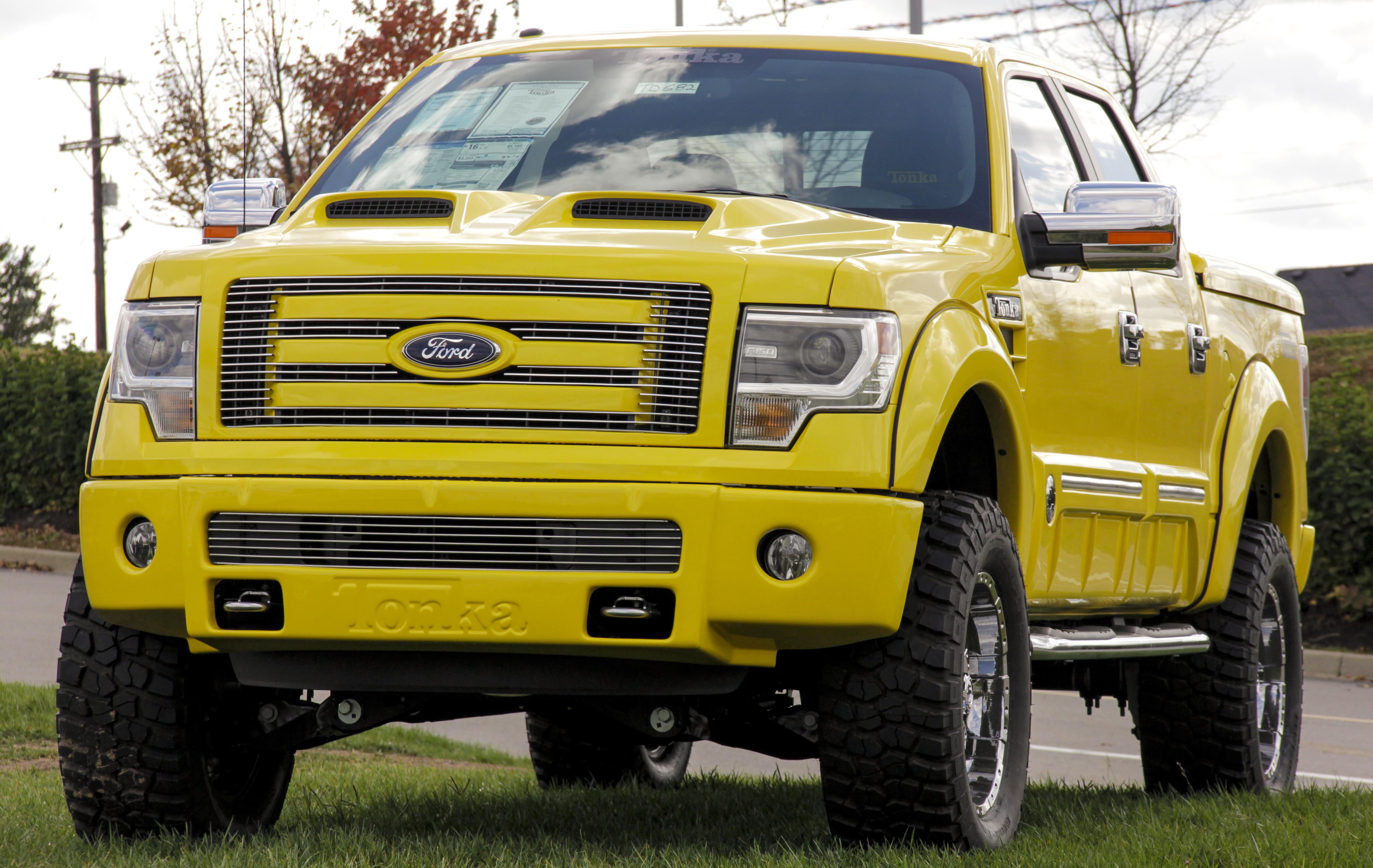 2013 ford f 150 tonka truck. Black Bedroom Furniture Sets. Home Design Ideas