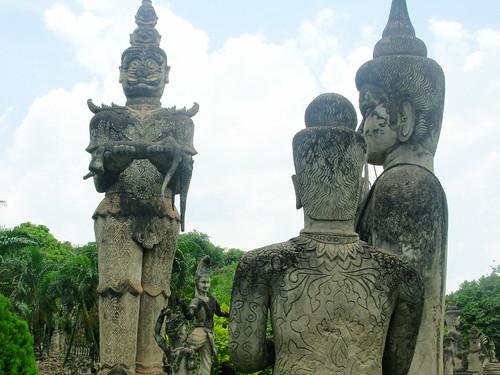 Vientiane 2007-Bouddha Park (12)