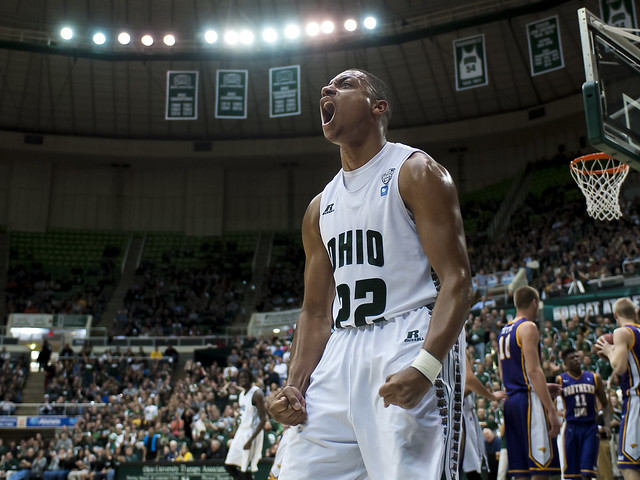 Ohio Men's Basketball Guard Stevie Taylor