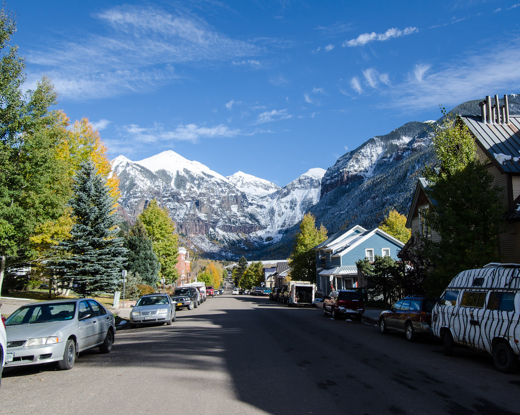 Colorado's Western Slope in Autumn