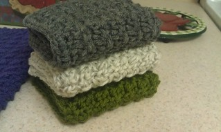 crochet durable dish cloths with pattern