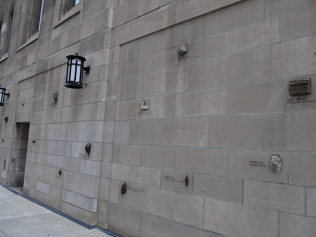 Tribune Tower Brick and Rock Collection, Chicago, Illinois ...