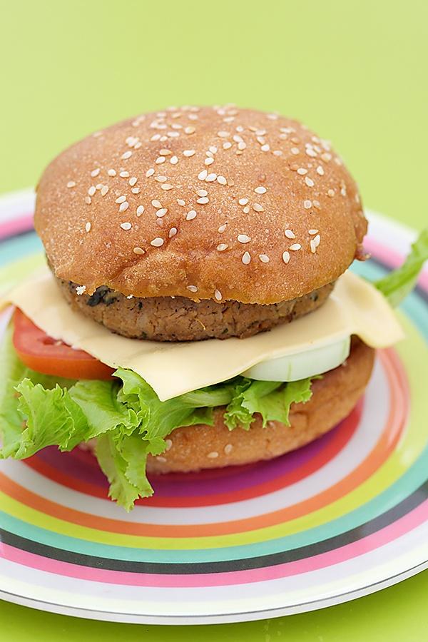 Healthy Veggie Soy Burger