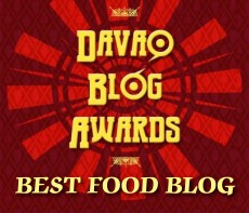 DavaoFoodTrip.com Chosen as Best Food Blog at Davao Blog Awards 2012