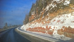 2013 11 23 Red Rock Cut on Hwy 17 E of Nipigon