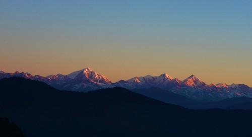 sunrise himalaya assam himalayas arunachal arunachalpradesh gorichen