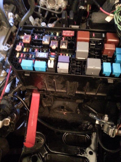 2010  4runner How To Separate Fuse Box Segments  Battery