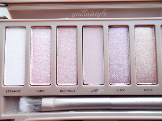 Urban Decay Naked 3 Palette review and swatch