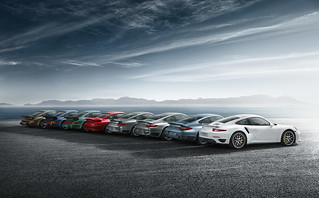 911 Turbo models (Typ 930 to 991)