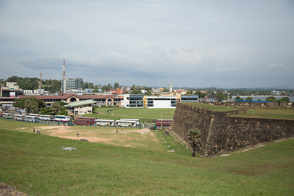 Cricket ground Galle Sri Lanka 2013 2013-11-24