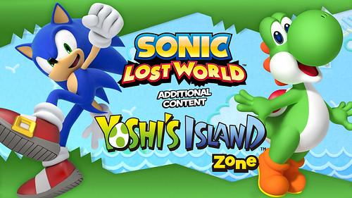 Sonic Lost World - Yoshi's Island Zone DLC