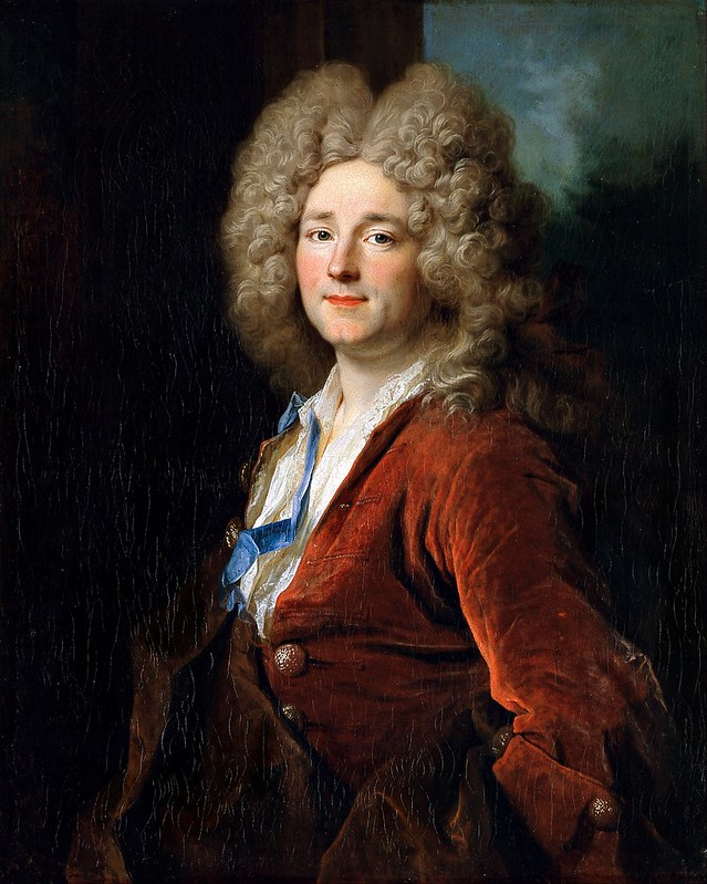 Nicolas de Largillière - Portrait of a Man (c.1714)