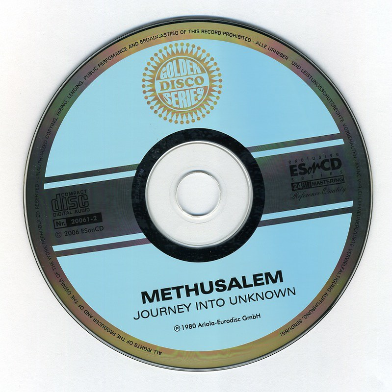 Methusalem Journey Into The Unknown