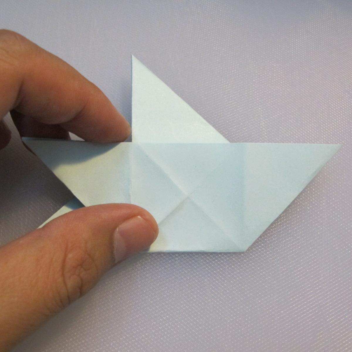 การพับกระดาษรูปดาวกระจาย (Star Origami – スターの折り紙) 014