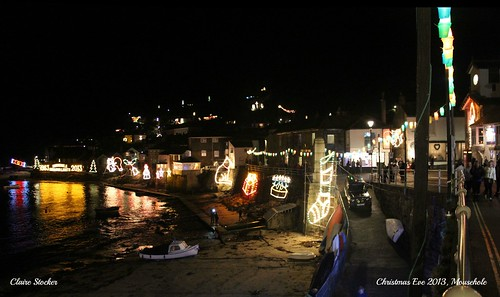 Mousehole - Christmas Eve 2013 by www.stockerimages.blogspot.co.uk