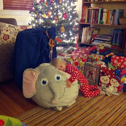 Elephant! Christmas has begun. #365photoproject #day114