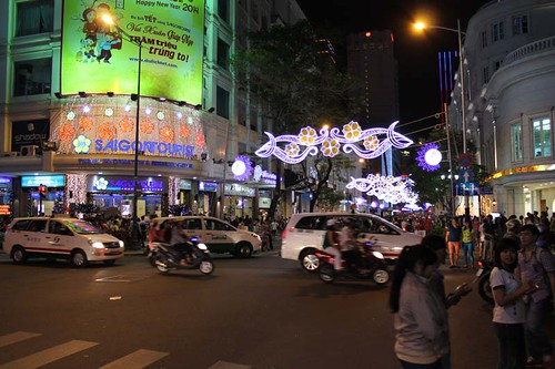 saigon tourist noel 2013