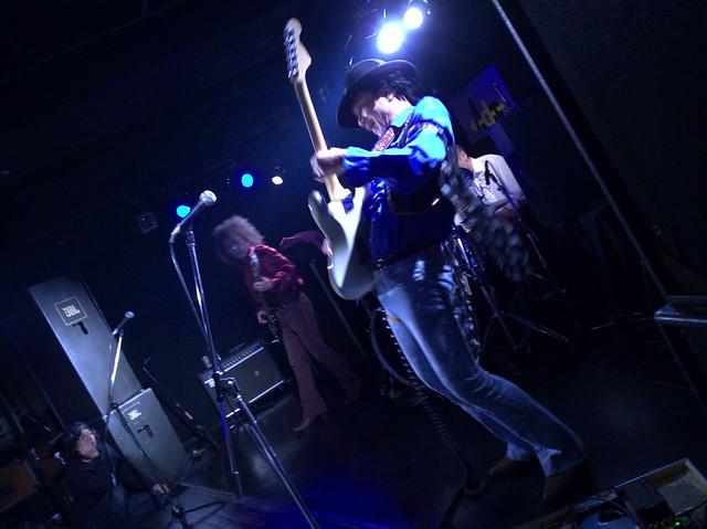 JIMISEN live at Adm, Tokyo, 05 Jan 2014. GR021