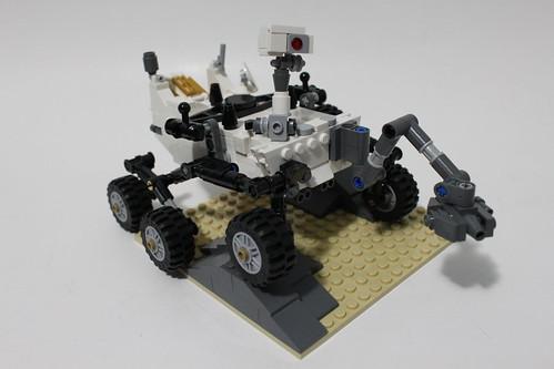 LEGO CUUSOO Mars Science Laboratory Curiosity Rover (21104)