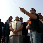 Salman Khan: Salman Khan Flying Kite at Ahmedabad