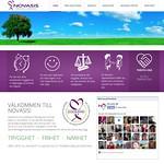 Ny hemsida till Novasis AB. www.novasis.se