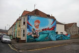 Eastville Graffiti Mural