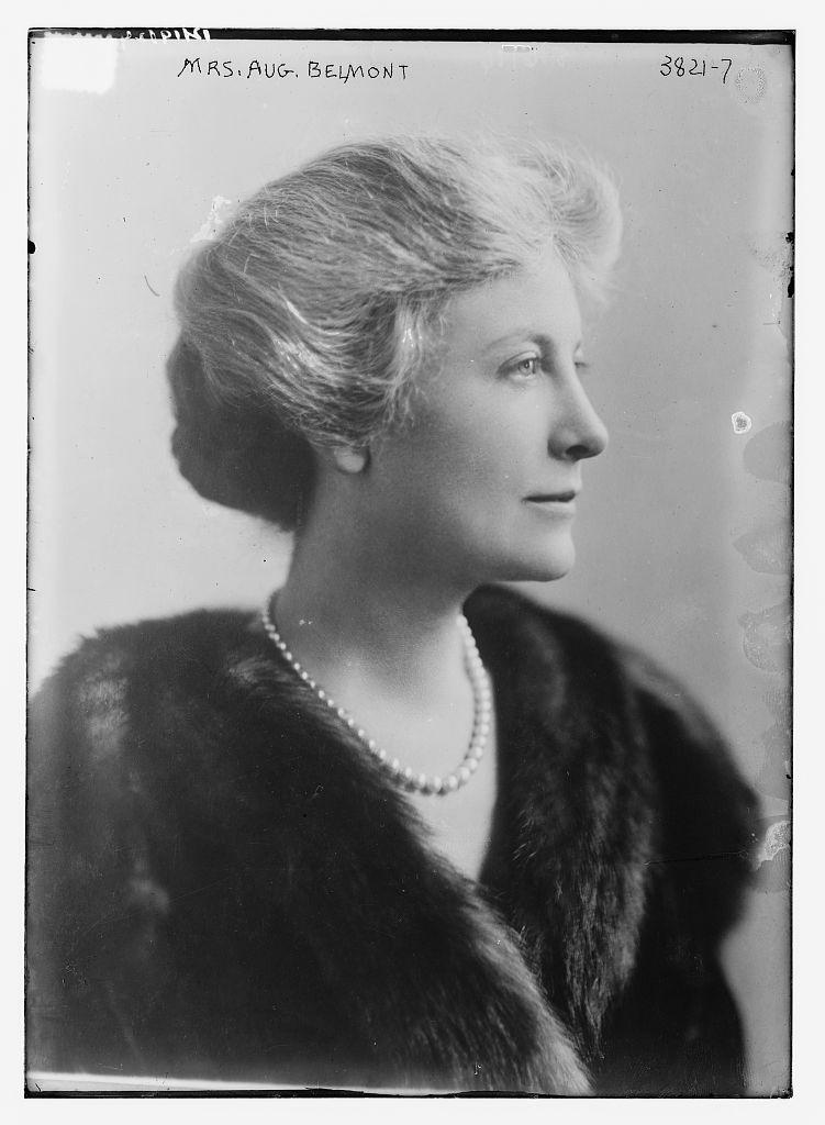 Mrs. Aug. Belmont (LOC)