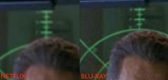 Battlestar Galactica Netflix vs Blu-Ray 300%