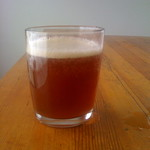 glass of Chaga Cream Soda