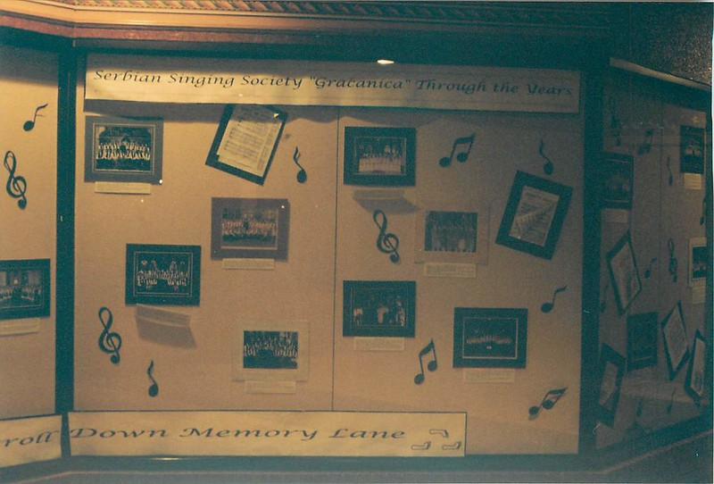 50th Anniversary of Serbian Singing society 'Gracanica' - November 6, 1999 - December 15, 1999