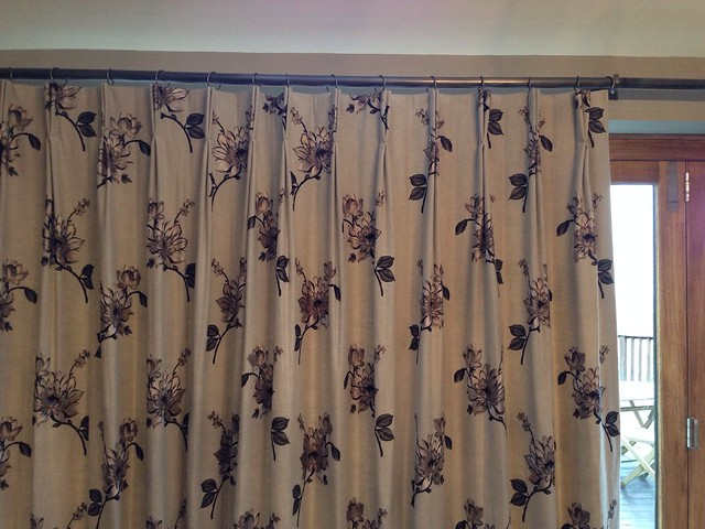 French pleat headed, interlined curtains.   Flickr - Photo Sharing!