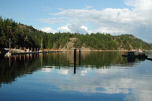 Cortes Bay, Cortes Island, Discovery Islands, British Columbia, Canada