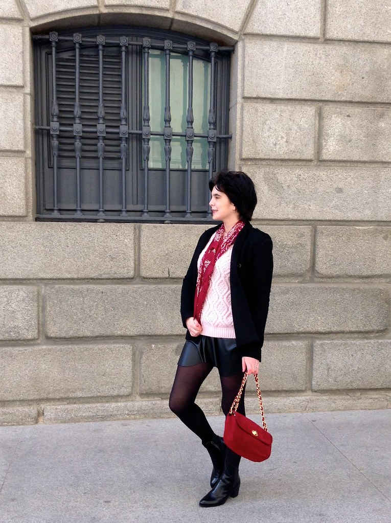 Las Cortes, Madrid, España - Outfit of the day - Zara
