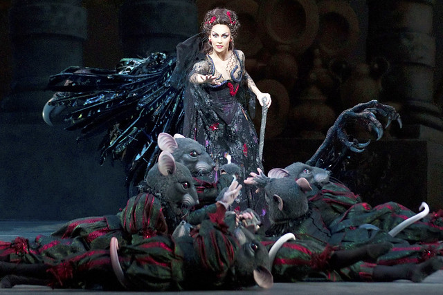 Kristen McNally as Carabosse in The Sleeping Beauty. © ROH/Johan Persson, 2011