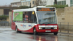 vehicle, optare solo, transport, mode of transport, public transport, dennis dart, minibus, land vehicle, bus,