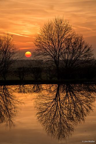 uk sunset aynho