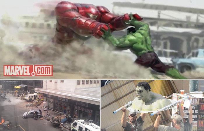 Huk Vs. Iron Man