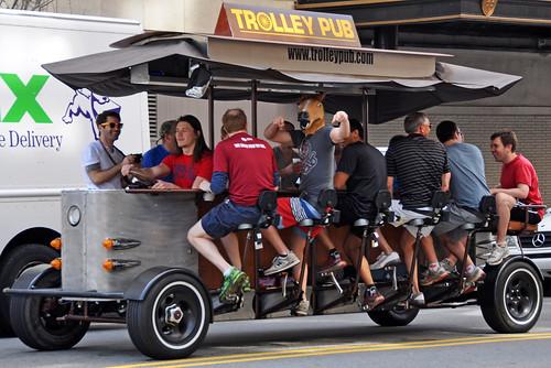 Trolley pub