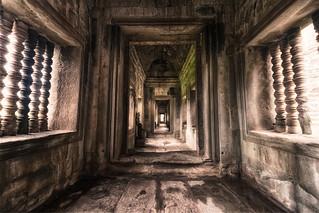 The Hallways of Angkor Wat