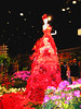 LADY IN RED FLOWER SHOW CENTERPIECE by Visual Images1