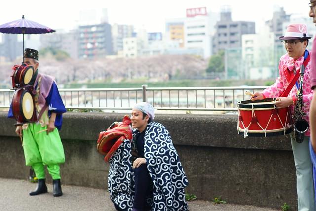 向島春の行楽, Mukohjima Tokyo, Mar 2014. 030
