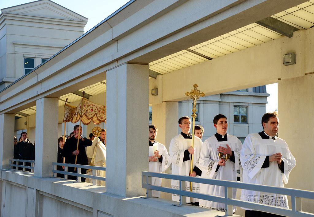 Seminarian Procession