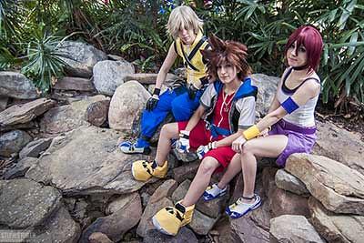Riku, Sora, and Kairi