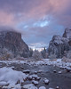 Winter Sunrise, Gates of the Valley (Yosemite) by Robin Black Photography