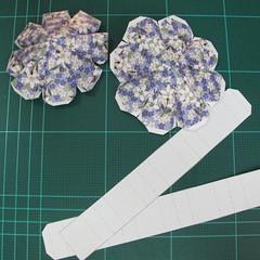 วิธีทำโมเดลกระดาษสำหรับตกแต่งทรงเรขาคณิต (Decor Geometry Papercraft Model) 005