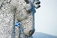 Scotland's newest sculpture and future symbol, along with Nessie and the Forth Bridge....